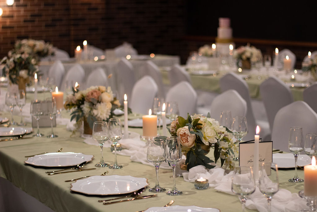Romance Reception North Lakes Hotel Styling Cellar Room
