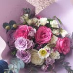 Pretty Lilacs and pink garden florals