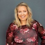 Sharon Nicholls, owner and head designer