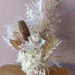 Preserved Preserved arrangement in vase medium neutrals